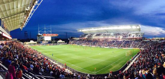 Good Toyota Park (Bridgeview Stadium): Thousands Of Empty Seats On A Gorgeous  Night