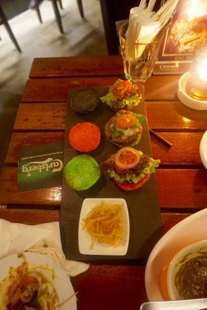 Pisco Bar: Miniburger - absolut empfehlenswert