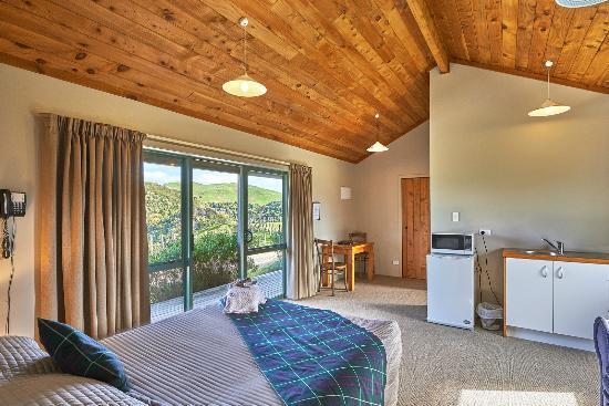 Apiti, Neuseeland: Lodge Accomodation- spa suite
