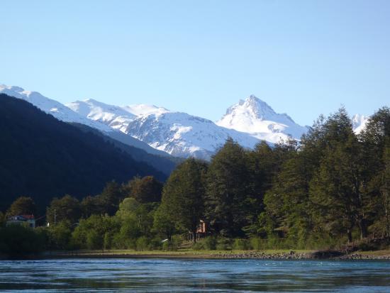 Patagonia Baker Lodge: Vista