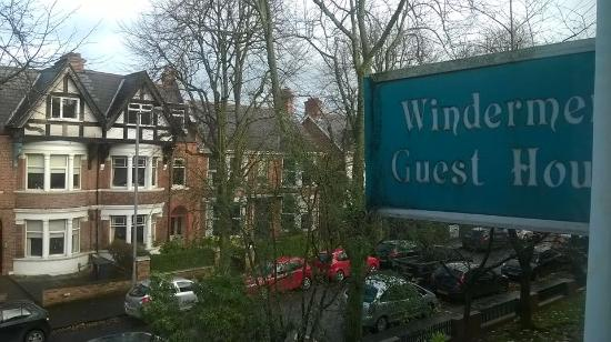 Windermere Guest House: out of B&B