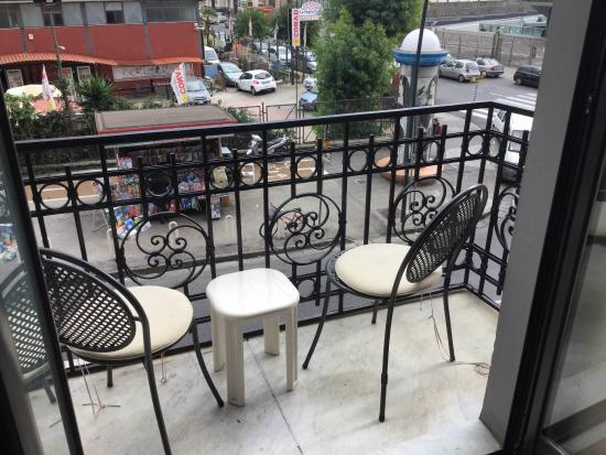 Hotel Nuvo: Private balcony