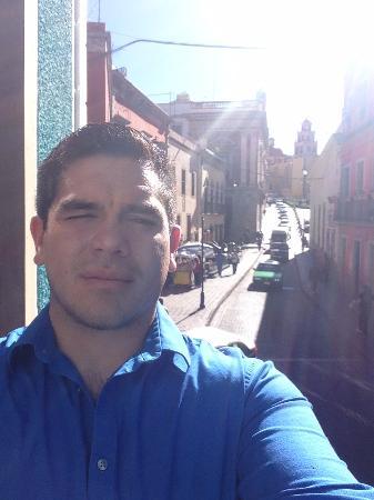 La Casa Del Quijote : La vista a la basilica desde nuestra habitacion