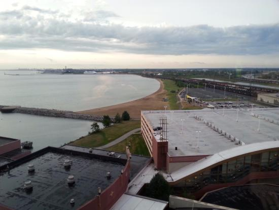 Ameristar Casino Hotel East Chicago: View from the room