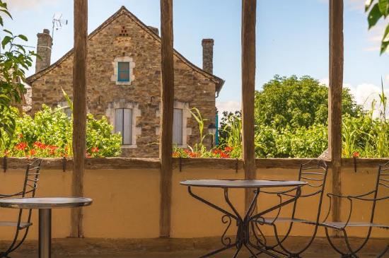 Le Senechal: Le Sénéchal, terrasse