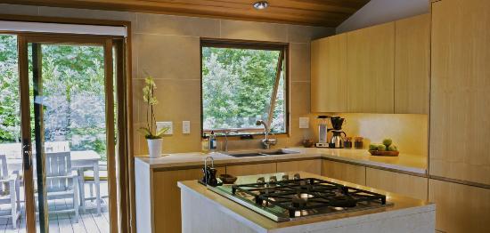 Coast Cabins: Modern Ranch Cabin kitchen