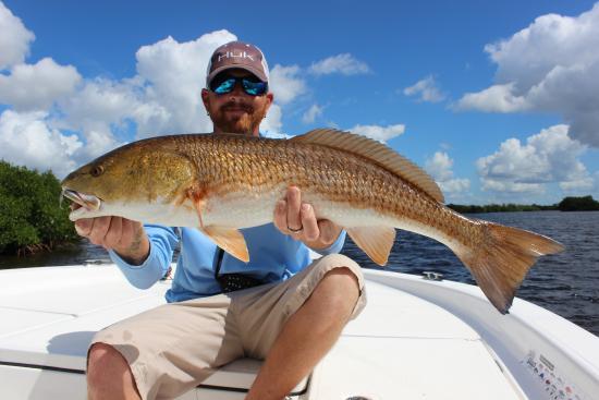 Boca Grande, FL: Capt with a nice redfish