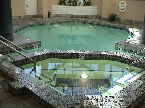 The hot tub spa and swimming pool picture of - Hotels with saltwater swimming pools ...