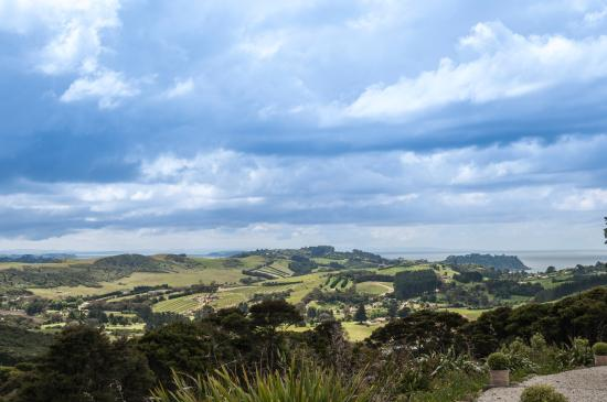 جزيرة واهيكي, نيوزيلندا: The view from the patio