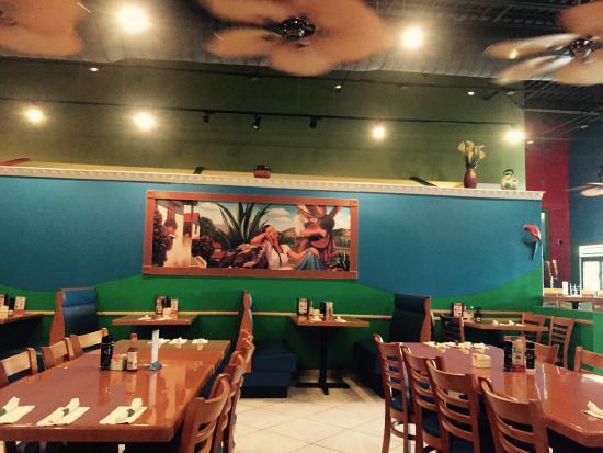 Torero's Mexican Restaurant: Inside of Toreros