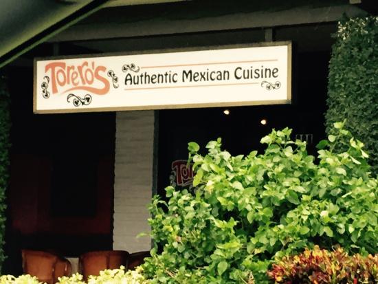 Torero's Mexican Restaurant: Front of Toreros
