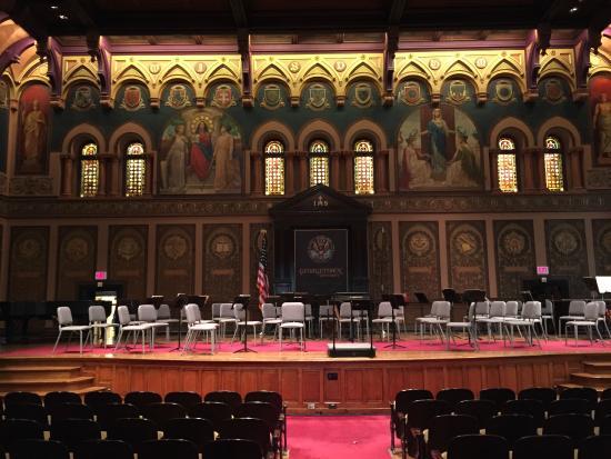 Georgetown University: ホール