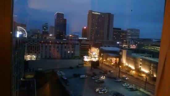 hilton garden inn atlanta downtown view from our room 11th floor - Hilton Garden Inn Atlanta