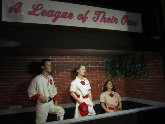 American Baseball Experience/ Heroes of Baseball Wax Museum: Tom Hanks, Geena Davis and Madonna