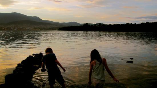 Bellerive, Australië: derwent river