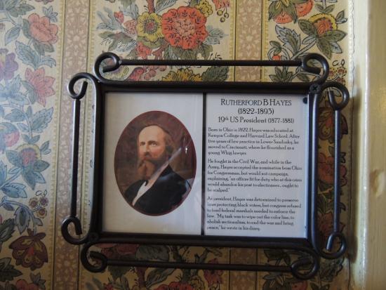 The Golden Lamb Inn: Rutherford B. Hayes