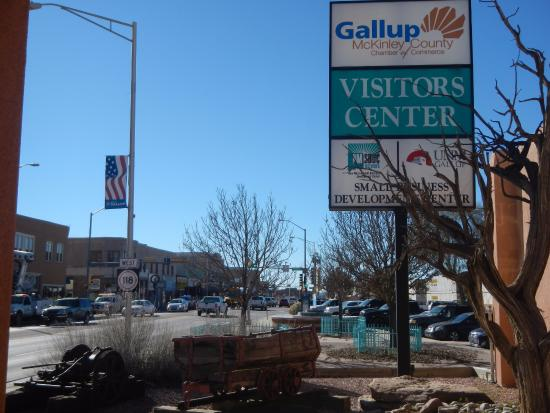 Gallup, NM: The museum is located in this building