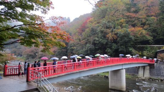 Aichi Prefecture, Japan: Taigetsukyo Bridge , Korankei