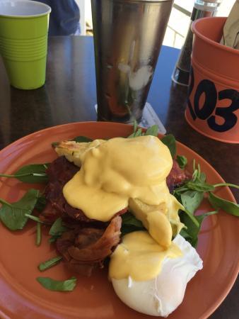 Sandbar Eggs with Bacon