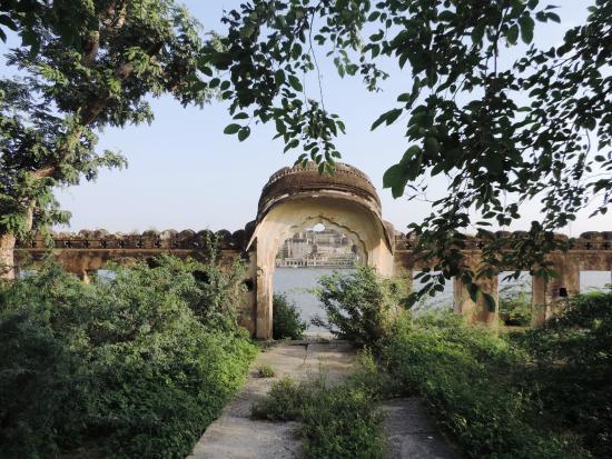 Kishangarh, Indien: The garden pavilion of Mokham vilas