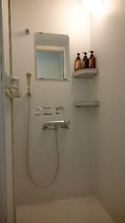 Hotel Miyuki : シャワーユニット
