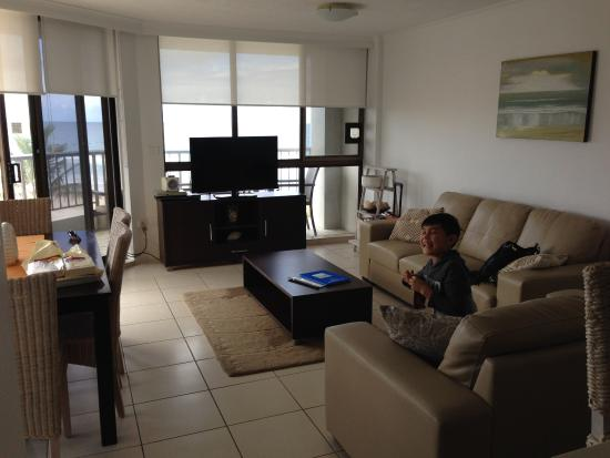Spindrift On The Beach: Living area