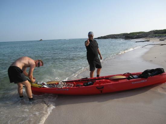 South Caicos: I love kayaking