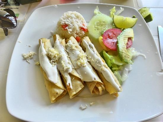Comida Casera: Tacos dorados