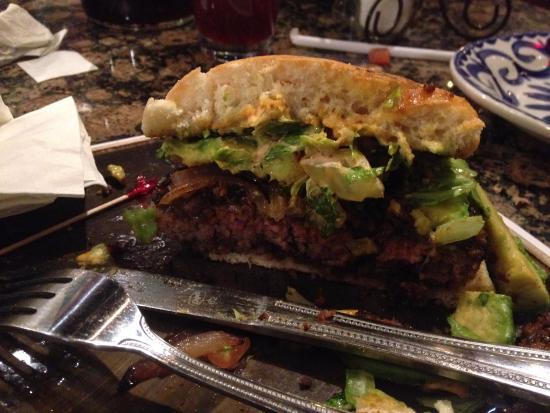 Hamburger di chorizo