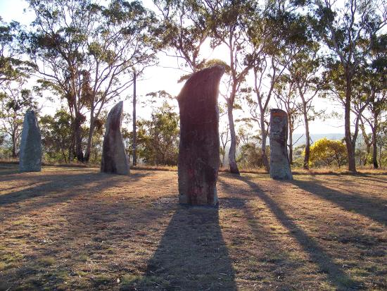 The Glen Innes Visitor Information Centre: Glen Innes National Celtic Standing Stones