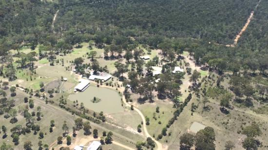 Lovedale Cottages : From the air