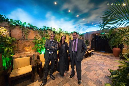 Friendly Staffs Picture Of Caffe Aroma Jeddah Tripadvisor