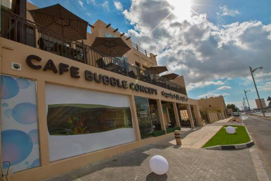 Cafe Bubble Concept