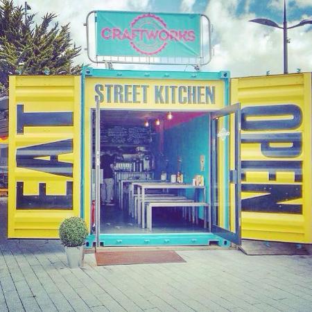 The BOX - Picture of Craftworks Street Kitchen, Truro - TripAdvisor