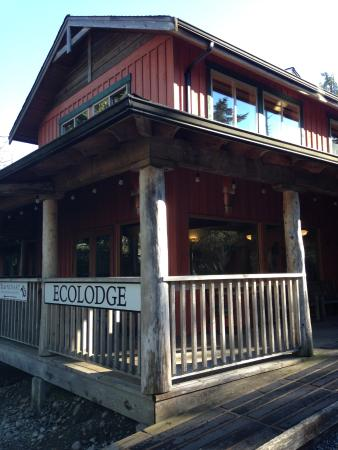 The Ecolodge at the Tofino Botanical Gardens: lodge