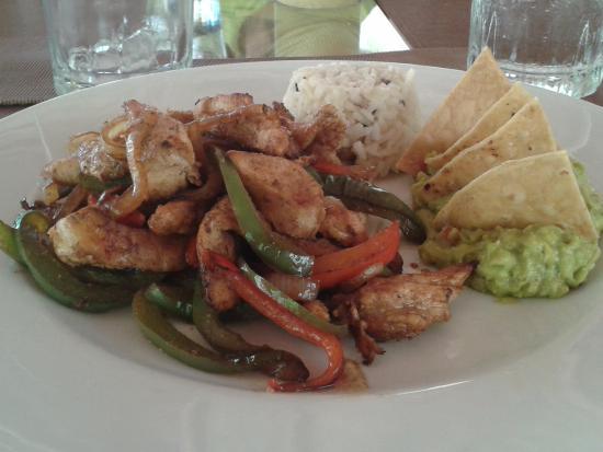 Blue Sky Restaurant : Un des plats