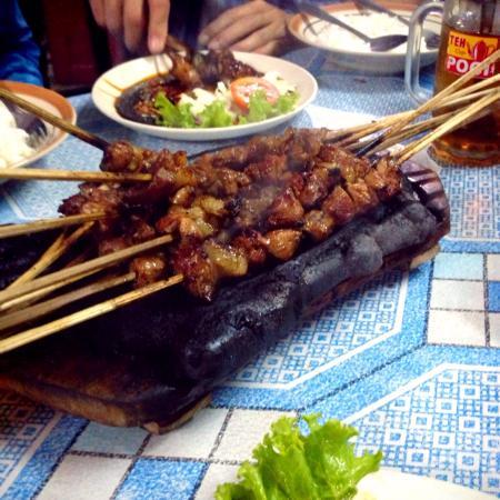 rm sate kambing muda blotongan pak masyhudi salatiga restaurant reviews photos tripadvisor
