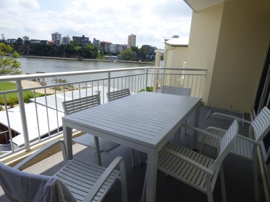 Bridgewater Terraces: River view