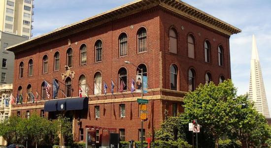 University Club San Francisco: exterior
