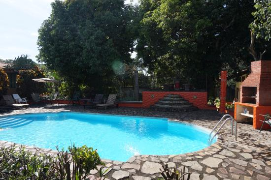 Dos Palmas Country Inn La Garita: Zwembad