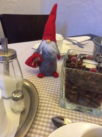 Hotel Otterberger Hof: schön gedeckter Tisch