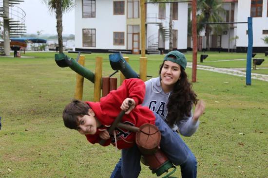Porto Esperanca, MS: área recreativa para crianças