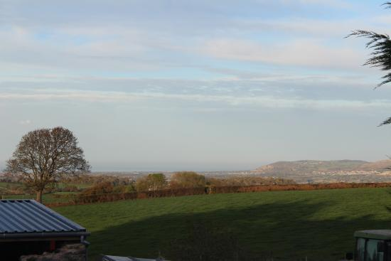 Llannefydd, UK: View from room