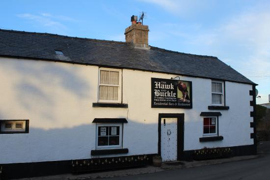 Llannefydd, UK: Front of pub