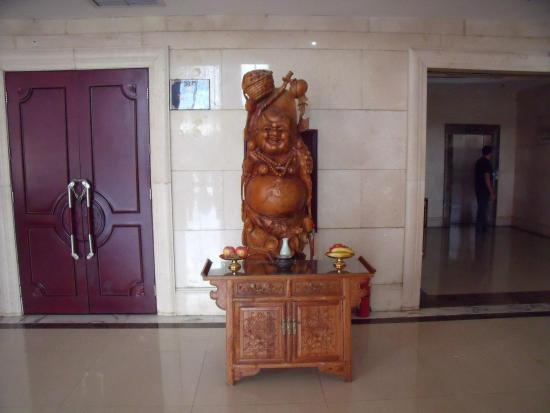 Miyun County, China: lobby hotelowe