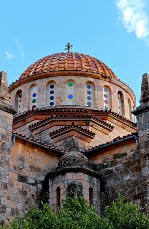 West Attica Region, กรีซ: Ιερός Ναός της Μεταμορφώσεως. Έργο του αρχιτέκτονα Ερνέστου Τσίλερ.