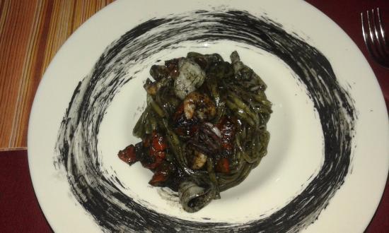 Rho, Ιταλία: Macarrão com frutos do mar