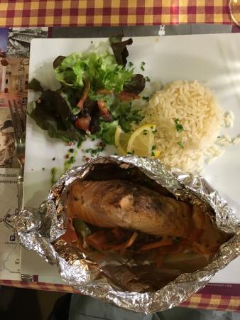 La Fringale: My salmon dinner