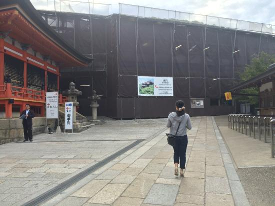how to go to kiyomizu dera temple from kyoto station