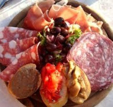 Montespertoli, Italia: antipasto